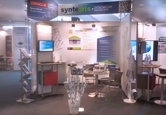 syntegris stand