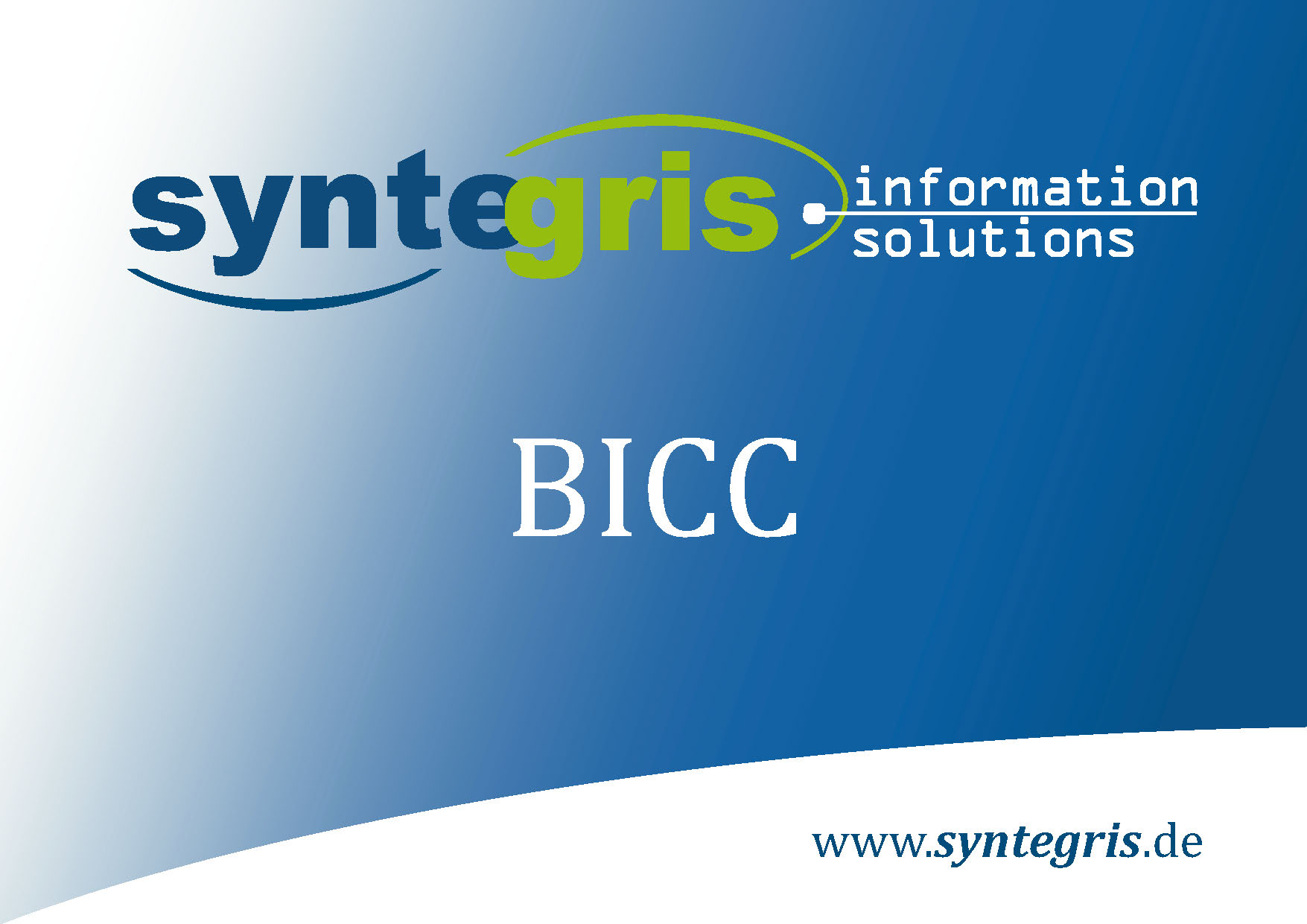 Syntegris BICC